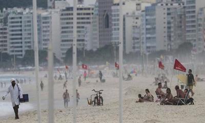 Río de Janeiro reabrió sus playas mientras la pandemia da una tímida señal de desaceleración – Prensa 5