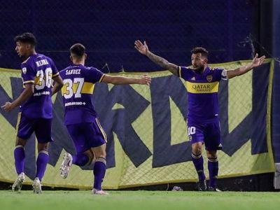 Boca Juniors venció a Santos y sigue a paso perfecto
