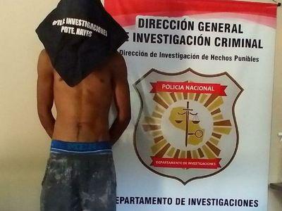 Policía captura al sospechoso de matar a mujer en robo domiciliario