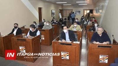 JUNTA MUNICIPAL RECHAZA EJECUCIÓN PRESUPUESTARIA DE YD