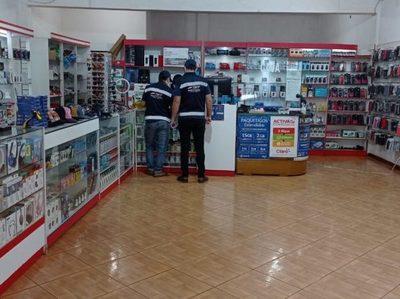 SET realizó controles a locales comerciales de Alto Paraná