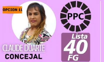 Candidata transexual puja por un lugar en la Junta Municipal de Villa Hayes