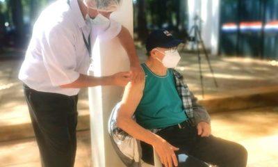 Muchos de los agendados no acudieron a vacunarse