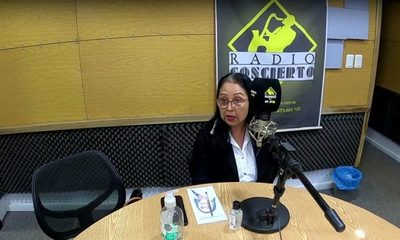 Alcira Castillo cree que puede ganar en Hernandarias, con los programas de su marido