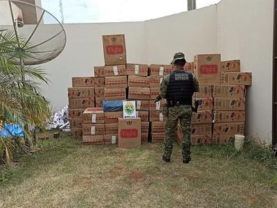 Caen en BRASIL cargas de CIGARRILLOS producidos por TABESA