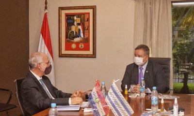 Embajador de Israel visitó al ministro de Inteligencia
