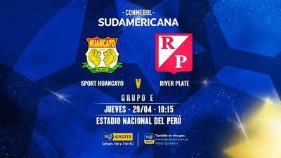 River Plate se presenta en Perú