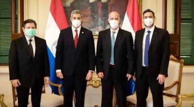 Marito agradece a Israel por respiradores y dispositivos para no videntes