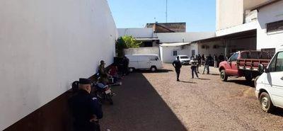 Llamativo procedimiento de la policía tras persecución en Pedro Juan.