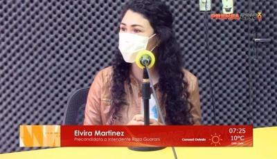 """""""Ofrecemos el cambio que la gente espera y necesita"""", dijo Elvira Martínez – Prensa 5"""