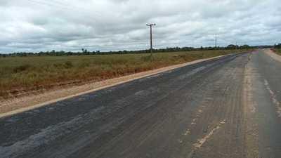 Pavimentación asfáltica del tramo Bella Vista Norte- Puentesiño tiene 32% de avance promedio