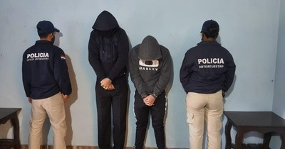 La Nación / Detienen a dos hombres por caso de sextorsión en Capiatá