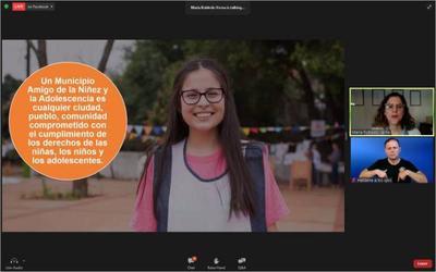 """Ministra participó del lanzamiento de la iniciativa """"Municipios amigos de la Niñez y la Adolescencia"""""""