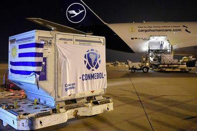 CONMEBOL inicia distribución de las vacunas donadas