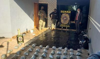 Incautan 335 kilos de marihuana en Saltos del Guairá – Prensa 5