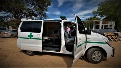 Gobernación de Boquerón adquirió una ambulancia para el SEME Chaco