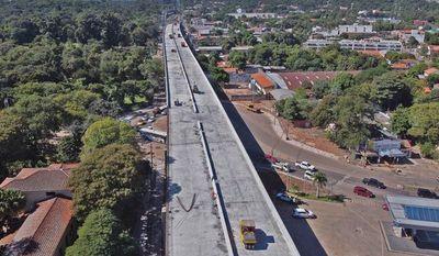 Se inició el hormigonado del viaducto mayor en el Corredor Vial Botánico