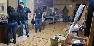 SENAD incautó más de 300 kilos de Marihuana en encomiendas