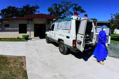 Pabellón de contingencia en Guarambaré recientemente inaugurado comenzó a recibir primeros pacientes