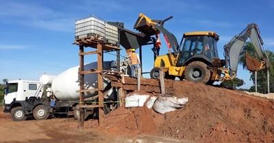 La Nación / Construcción de puentes avanza favorablemente en Canindeyú