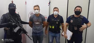 Capturan a brasileño buscado por homicidio en su país