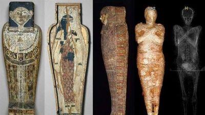 El extraordinario descubrimiento de una momia egipcia embarazada