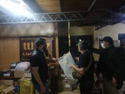 Detectan estructura que trasladaba marihuana por empresas de encomiendas terrestres en Concepción