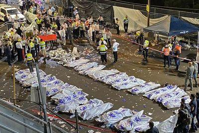 Ya son 44 los muertos en la estampida humana en una fiesta judía en Israel