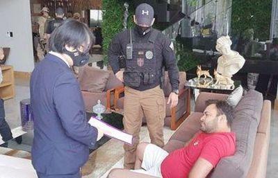 Otorgan prisión domiciliaria a cambista detenido en Pedro Juan por lavando de dinero del narcotráfico