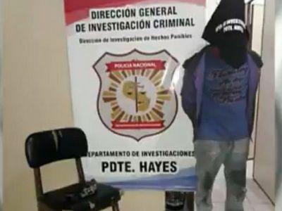 Cae otro sospechoso del crimen de anciana en Benjamín Aceval