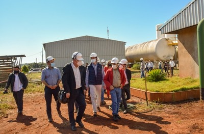 Realizan estudios técnicos de la planta que producirá oxígeno en Hernandarias
