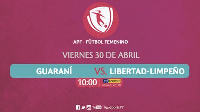 Guaraní y Libertad-Limpeño abren la temporada del fútbol femenino