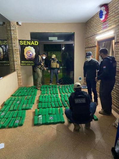 Detectan otra vivienda en la que ocultaban un cargamento de droga en PJC