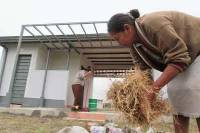 MUVH alista recepción de viviendas para comunidades indígenas de Villa Hayes