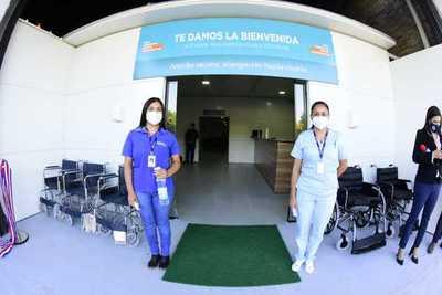 Habilitan centro vacunatorio contra el coronavirus en Capiatá