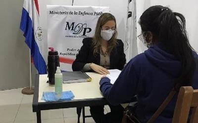 Defensa Pública cierra marzo con 97.500 casos en trámites