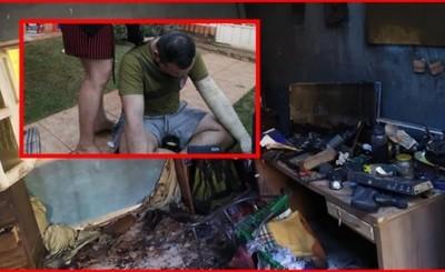 Organizan rifa para voluntario de Cruz Roja cuya vivienda se incendió