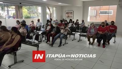 AGILIZAN EL AGENDAMIENTO Y CONSULTAS EN EL HOSPITAL DE ENCARNACIÓN.
