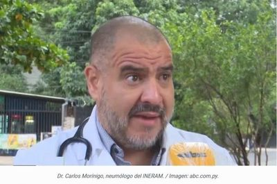 Lo pronosticó el Dr. Morínigo hace 16 días