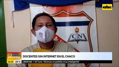 Docentes del Alto Paraguay, sin internet