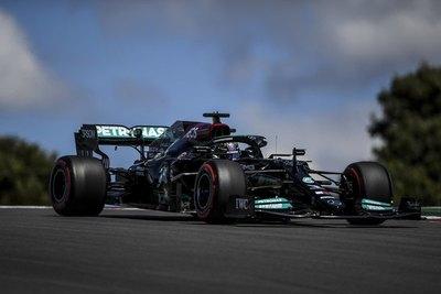 Versus / Mercedes domina en las 2 libres de Portugal