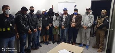 Migraciones expulsó a nueve ciudadanos brasileños