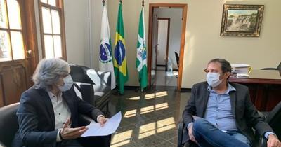 La Nación / Intendente de Foz quiere acciones conjuntas con CDE para mitigar el problema COVID-19