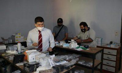 En allanamiento incautan artículos presumiblemente falsificados por valor de USD 1 millón