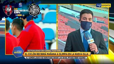 El informe sobre Cerro Porteño previo al clásico