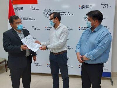 Designan al reemplazante del Dr. Núñez tras vacunación a senadora Gusinky