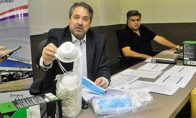 Tapabocas de oro: Fiscalía acusa y pide juicio oral para extitular de la Dinac