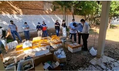 En operativo contra delitos marcarios, allanan vivienda en Asunción e incautan artículos por valor de USD 1.500.000