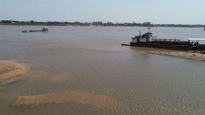 Situación de la hidrovía es crítica y las obras de dragado inician la próxima semana, anuncian