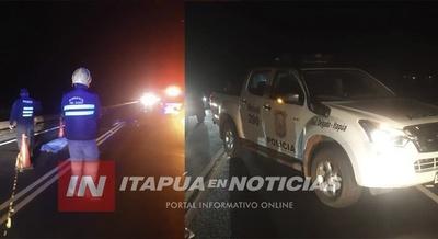 ACCIDENTE FATAL SOBRE EL PUENTE AGUAPEY